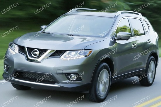 Nissan Rogue Halogen Fog Light Kit