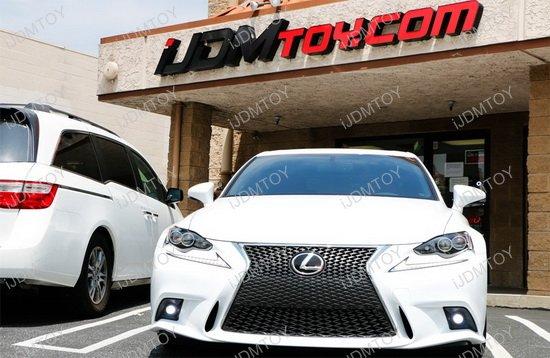Lexus IS F-Sport OEM Style LED Fog Lights