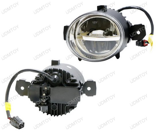 OEM Style LED Fog L&s  sc 1 st  iJDMTOY.com & OEM Fit CREE LED Fog Lamps with DRL Lights For BMW Nissan Infiniti azcodes.com