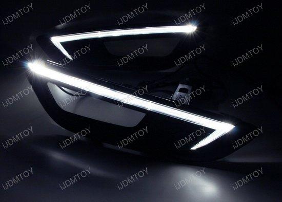Ford Focus LED Daytime Running Lights
