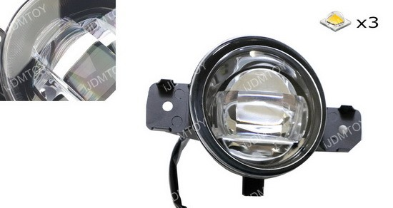 Nissan Rogue LED Fog Light Kit