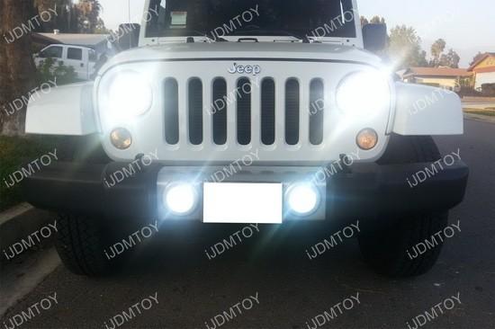 Jeep Dodge Chrysler LED Fog Lights DRL