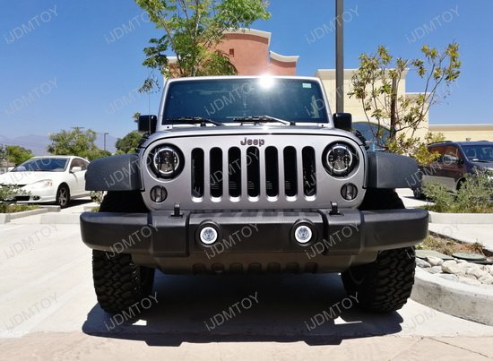 Jeep Dodge Chrysler LED Fog Lights DRL