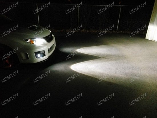 Subaru WRX STi LED Fog Lights DRL