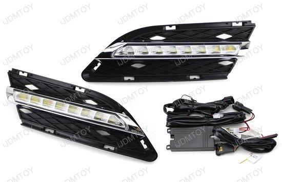 High Power LED Daytime Running Lights For BMW E90 LCI 3 Series