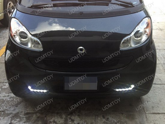 High Power LED Daytime Running Lights For Smart Fortwo