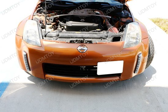 Nissan 350Z Switchback LED Daytime Running Light 11 clearance 2003 2005 nissan 350z led daytime running lights led  at gsmportal.co