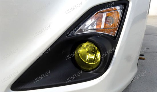 Scion FR-S JDM Yellow Fog Lamps