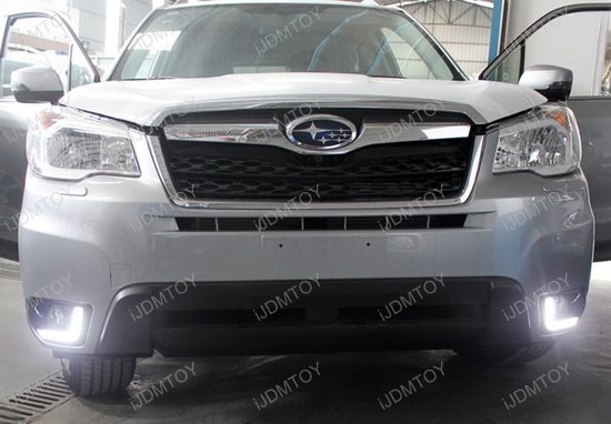 Subaru Forester High Power Philips Led Daytime Running Lights