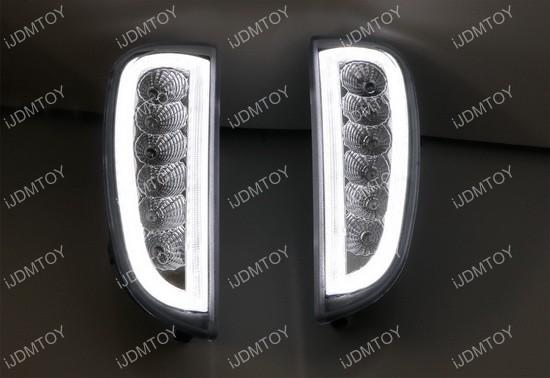 Porsche Cayenne LED daytime running lights turn signal lights