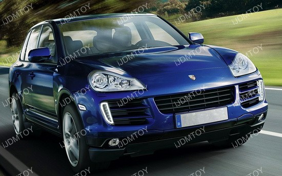 Porsche Cayenne LED daytime running lights turn signal lights