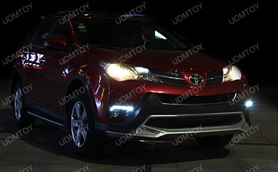 Toyota Rav4 LED Daytime Running Lights