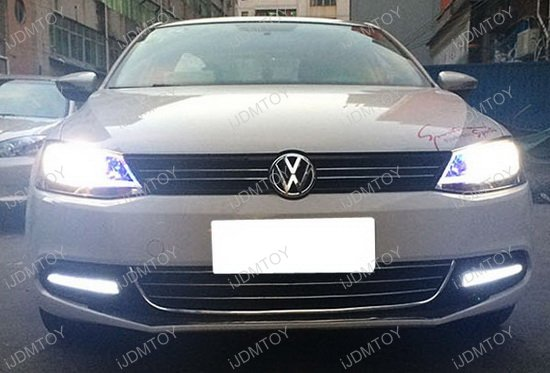Volkswagen Jetta Exact Oem Fit Led Daytime Running Lights