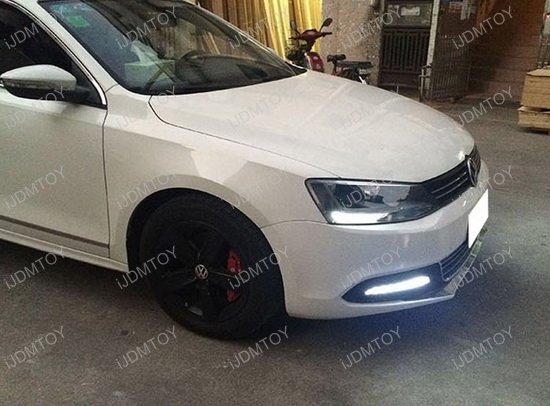 Volkswagen Jetta OEM Fit LED Daytime Running Lights