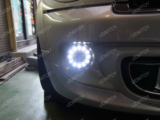 Oem Fit Mini Cooper 16w Led Daytime Running Lights Fog