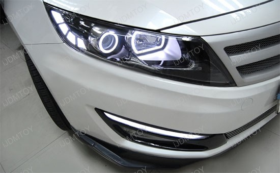 kia optima k5 glow stick led daytime running lights