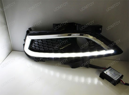 High Power LED Daytime Running Lights For Ford Fusion