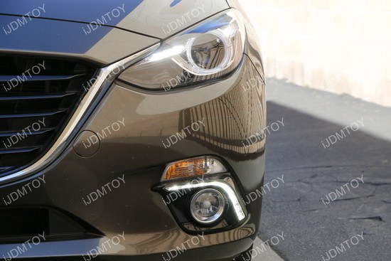2014+ Mazda3 High Power LED Daytime Running Lights