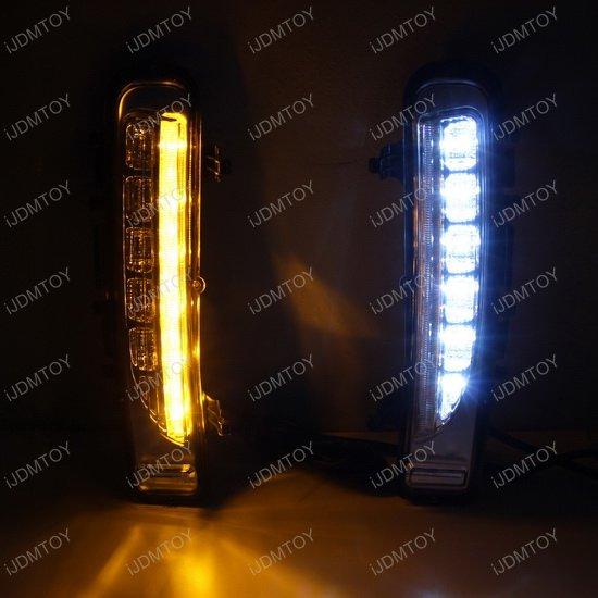 Switchback LED Daytime Running Lights For Ford Edge