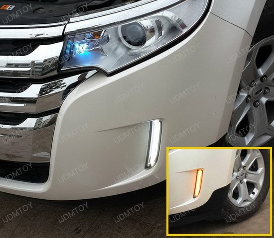 Switchback LED Daytime Running Lights For Ford Edge