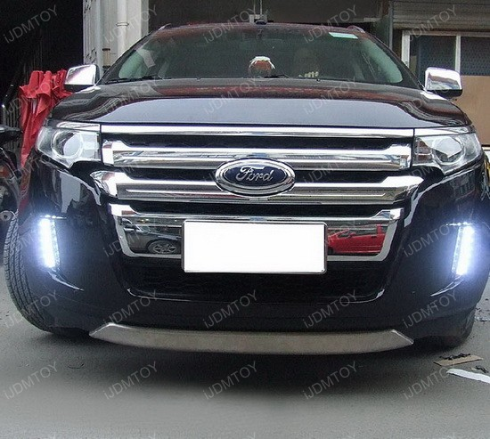 How Do Led Lights Work >> Ford Edge White Amber Switchback High Power Daytime Running Lights