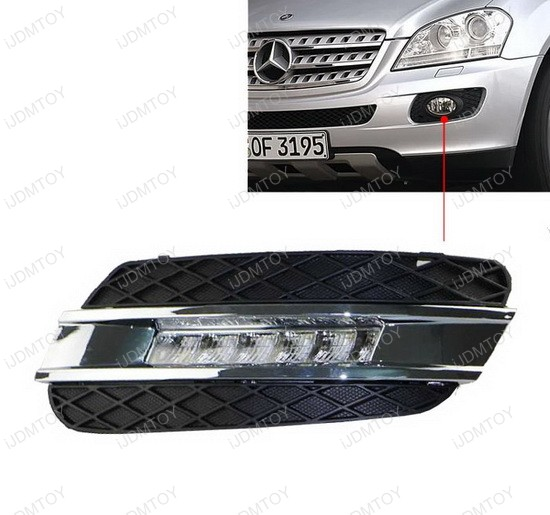 High Power LED Daytime Running Lights For Mercedes ML-Class