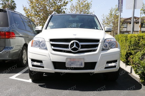 High Power LED Daytime Running Lights For Mercedes GLK-Class