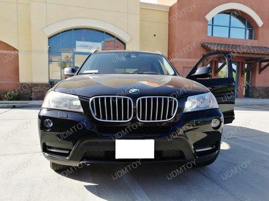 Bolt-On High Power LED Daytime Running Lights For 2011-2014 BMW X3