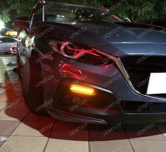 Mazda3 Japanese Style LED DRL