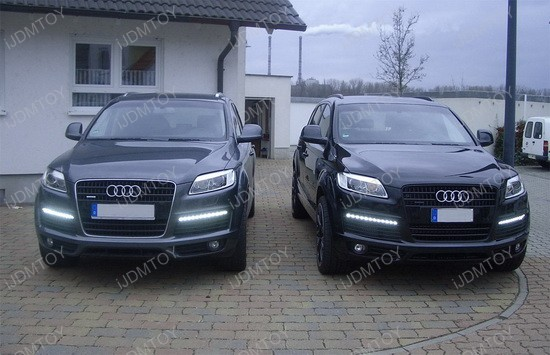 Audi Q7 Oem Fit Led Daytime Running Drl Lights