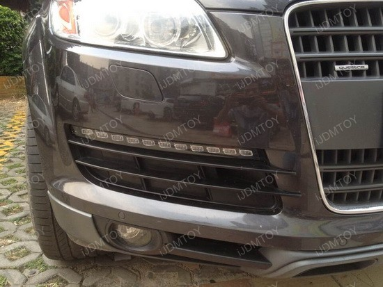 Audi Q7 OEM Fit LED Daytime Running Lights with Turn Signal