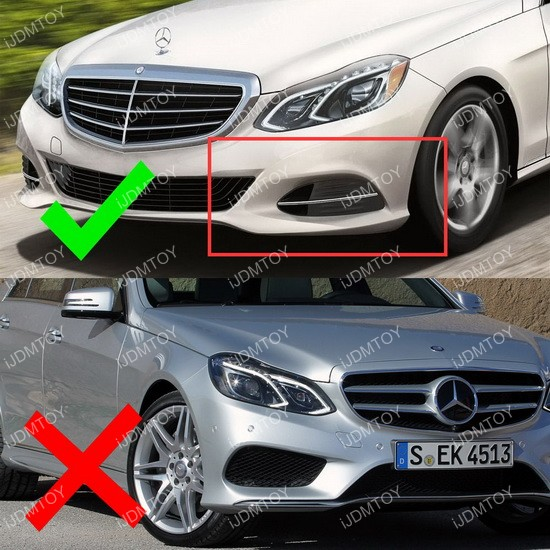 High Power Switchback LED Daytime Running Lights For Mercedes E Class