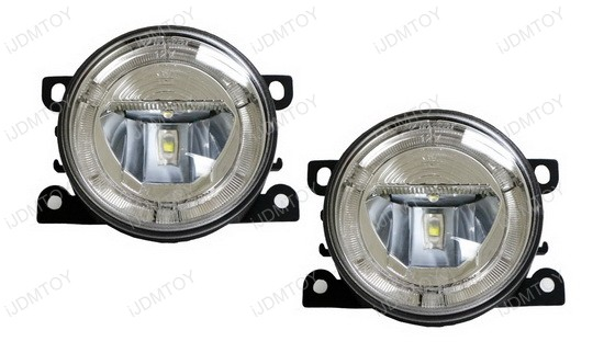 Marvelous IJDMTOY 20W High Power LED DRL/Fog Lights