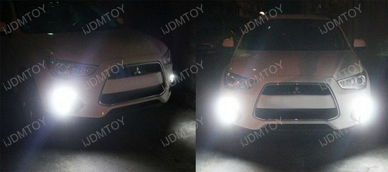 Mitsubishi Outlander Sport LED Daytime Lights