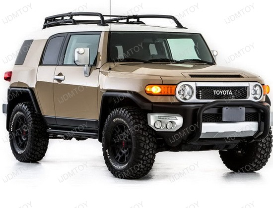 2007 Up Toyota Fj Cruiser High Power Led Daytime Running