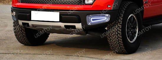 Ford F150 Raptor LED Daytime Running Lights