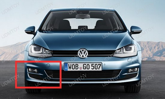 Volkswagen GTi LED Daytime Running Lights