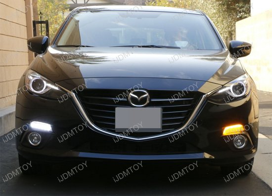 Mazda3 Direct Fit LED Daytime Running Lights