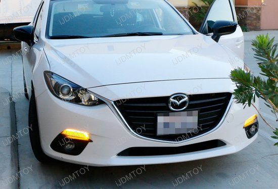 14 16 Mazda3 Switchback Led Daytime Running Light Turn