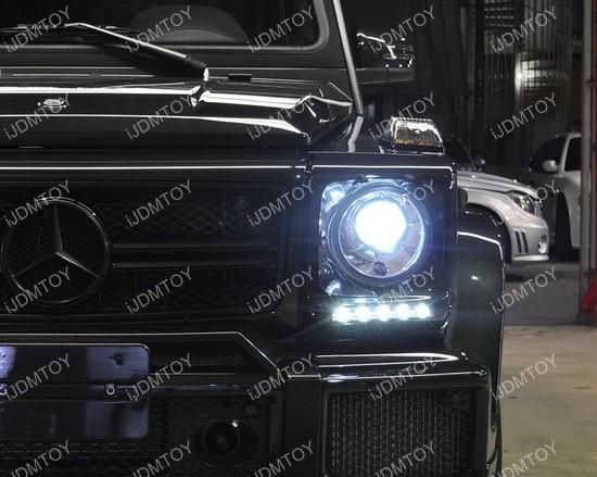 Mercedes G-Class Brabus OEM Style LED Daytime Running Lights