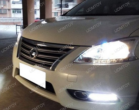 Nissan Sentra OEM Fit LED Daytime Running Lights