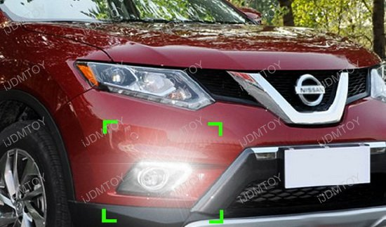 Nissan Rogue OEM Style LED Daytime Running Lights