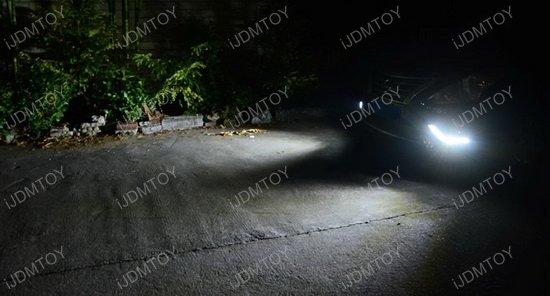 Nissan Versa-Sedan LED Daytime Running Lights