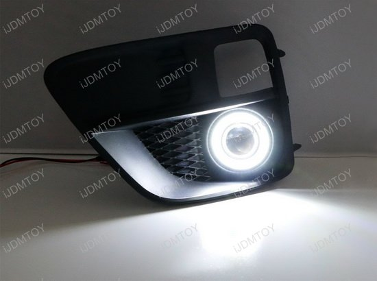 Subaru WRX STI Halo Ring LED DRL Fog Light