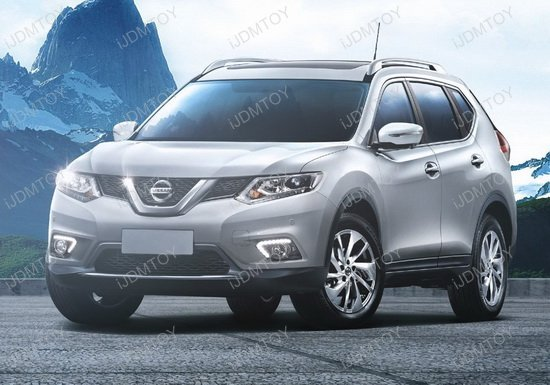 Nissan Rogue LED DRL Fog Combo