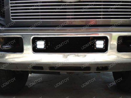 Ford F250 LED Pod Lights