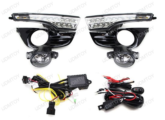 Nissan Altima LED DRL Fog Light Combo