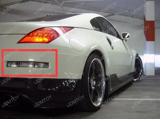 Nissan 350z Led Turn Signal Reverse Lights