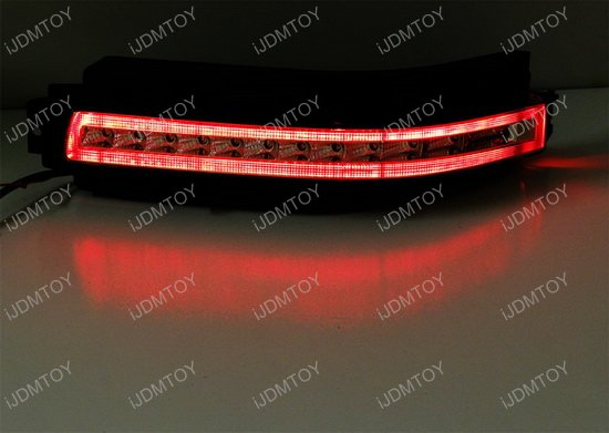 Nissan 350Z Rear Turn Signal Backup Lamp 08 nissan 350z led turn signal lights brake backup reverse lamps diy Reverse Light Wiring Diagram Color Code at gsmx.co