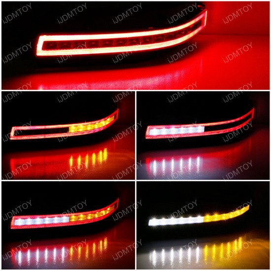 Nissan 350Z LED Turn Signal/Reverse Lights